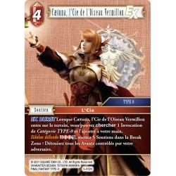 Final Fantasy - Feu - Caetuna, l'Cie de l'Oiseau Vermillon (FF05-012H) (Foil)