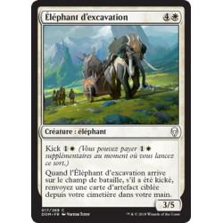 Blanche - Eléphant d'excavation (C) [DOM]