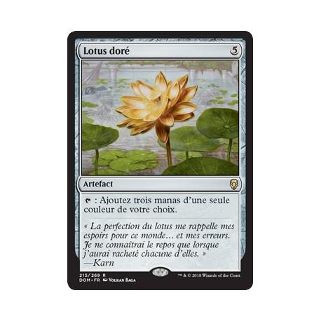 Artefact - Lotus doré (R) [DOM]