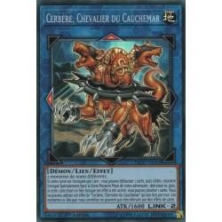 Yugioh - Cerbère, Chevalier du Cauchemar (SR) [FLOD]
