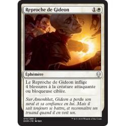 Blanche - Reproche de Gideon (C) [DOM] Foil