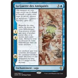 Bleue - La Guerre des Antiquités (R) [DOM] Foil