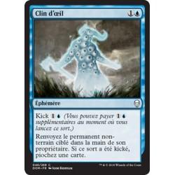 Bleue - Clin d'oeil (C) [DOM] Foil
