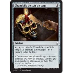 Artefact - Chandelle de suif de sang (C) [DOM] Foil