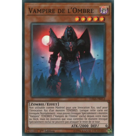 Yugioh - Vampire de l'Ombre (SR) [DASA]