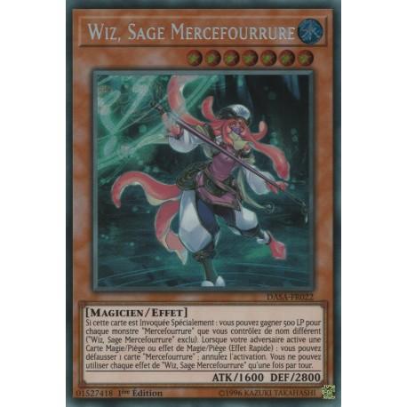 Yugioh - Wiz, Sage Mercefourrure (STR) [DASA]