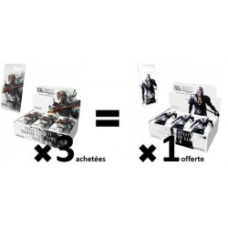 Final Fantasy - Opus VI - 3 Boosters VF + 1 Booster Opus III offert