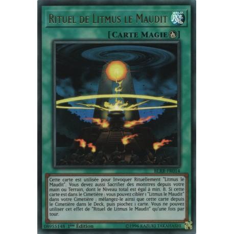 Yugioh - Rituel de Litmus le Maudit (UR) [BLRR]