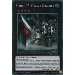 Yugioh - Numéro 27 : Cuirassé Cuiranoid (STR) [BLRR]
