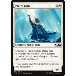Blanche - Prêtre nain (C) [M19]
