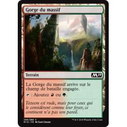 Terrain - Gorge du massif (C) [M19]