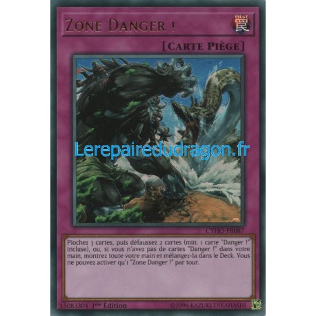 Yugioh - Zone Danger ! (UR) [CYHO]
