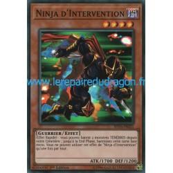 Yugioh - Ninja d'Intervention (SR) [SHVA]