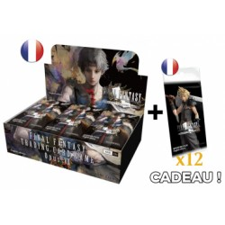 Final Fantasy - Opus VII - Boîte de 36 boosters VF + 12 booster Opus IV offerts
