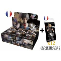 Final Fantasy - Opus VII - Boîte de 36 boosters VF + 12 booster Opus IV offerts + Noctis