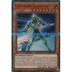 Yugioh - Chevalier Galactique (SR) [LED3]