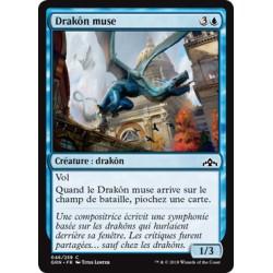 Bleue - Drakôn muse (C) [GRN]