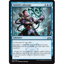 Bleue - Sinistre sabotage (U) [GRN]
