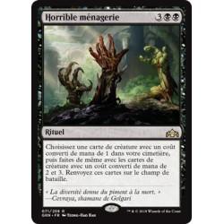 Noire - Horrible ménagerie (R) [GRN]