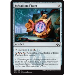 Artefact - Médaillon d'Izzet (C) [GRN]