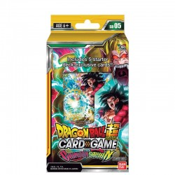 Deck de Démarrage Dragon Ball Super The Crimson Sayan SD05