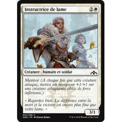 Blanche - Instructrice de lame (C) [GRN] FOIL