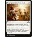 Blanche - Se préparer pour le combat (U) [GRN] FOIL