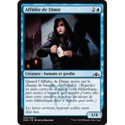 Bleue - Affidée de Dimir (C) [GRN] FOIL