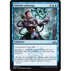 Bleue - Sinistre sabotage (U) [GRN] FOIL