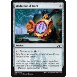 Artefact - Médaillon d'Izzet (C) [GRN] FOIL