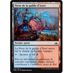 Terrain - Porte de la guilde d'Izzet (A) (C) [GRN] FOIL