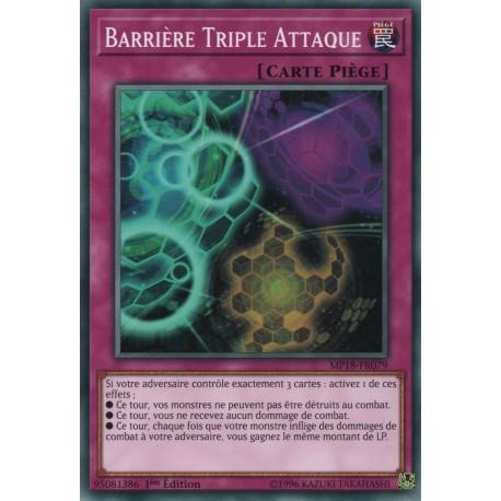 Yugioh - Barrière Triple Attaque (C) [MP18]