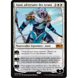 Blanche - Ajani, adversaire des tyrans (M) [M19] FOIL