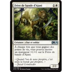 Blanche - Frère de bande d'Ajani (U) [M19] FOIL