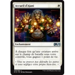 Blanche - Accueil d'Ajani (U) [M19] FOIL