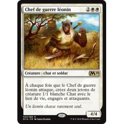 Blanche - Chef de guerre léonin (R) [M19] FOIL