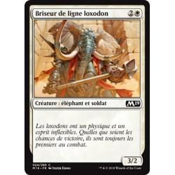 Blanche - Briseur de ligne loxodon (C) [M19] FOIL