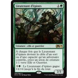 Verte - Lieutenant d'épines (R) [M19] FOIL