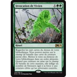 Verte - Invocation de Vivien (R) [M19] FOIL