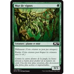 Verte - Mur de vignes (C) [M19] FOIL
