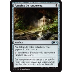 Artefact - Fontaine du renouveau (U) [M19] FOIL