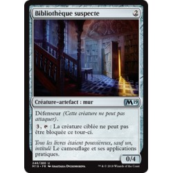 Artefact - Bibliothèque suspecte (U) [M19] FOIL