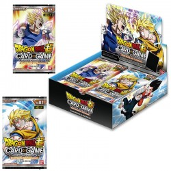 4 Boosters Dragon Ball Super Card Game - Theme Boosters 2 (+1 Booster Offert)