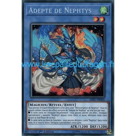 Yugioh - Adepte de Nephtys (STR) [HISU]