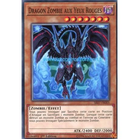 Yugioh - Dragon Zombie Aux Yeux Rouges (C) [SR07]