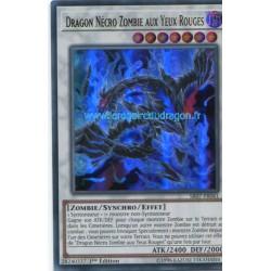 Yugioh - Dragon Nécro Zombie Aux Yeux Rouges (UR) [SR07]
