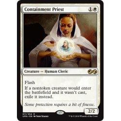 Blanche - Containment Priest (R) [UMA] FOIL