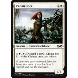 Blanche - Icatian Crier (C) [UMA] FOIL