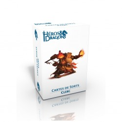 Heros et Dragons - Cartes de Sorts - Clerc