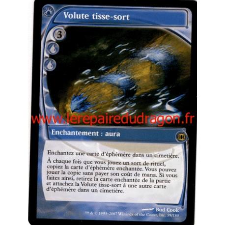 Bleue - Volute Tisse-Sort (R)